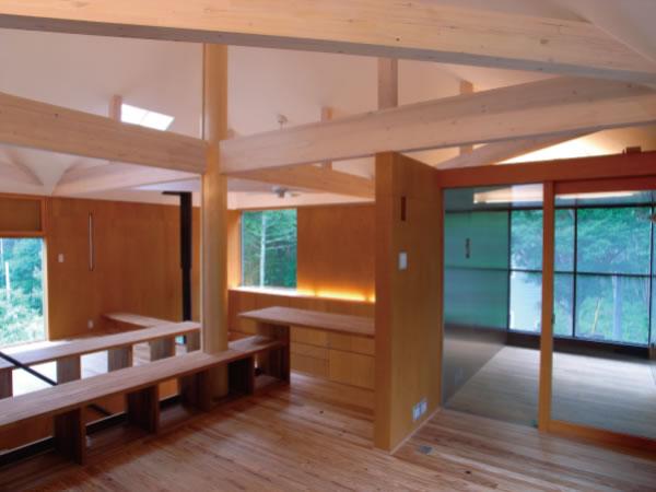 清水淳建築設計 X シームレス床暖房