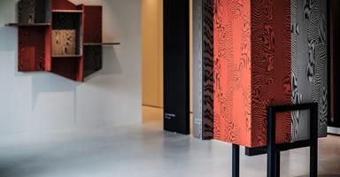 天然木の温もりと共存する斬新なデザイン化粧板 ラグジュアリー空間を華麗に演出