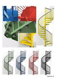 arke螺旋階段 【Steel】カラーバージョン