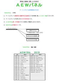 AEWパネル【化粧材】
