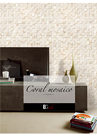 Coral mosaico – コーラルモザイコ:天然石灰岩モザイク