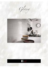 陶器質施釉壁用タイル「グロッシー」