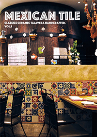 MEXICAN TILE – メキシコタイル:内壁用陶器質タイル
