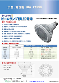 LEDスポットライト(投光器)