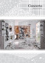 意匠と機能性を兼ね備えたデザインテンパードア 【Concerto】
