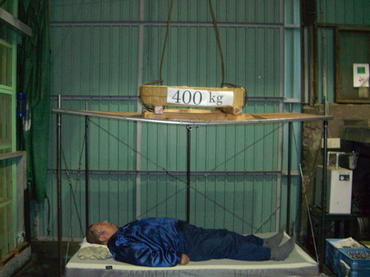 ツカエース耐震ベッド。