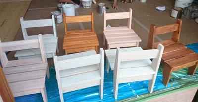 シッケンズ屋内用塗料 施工事例とイベント事例
