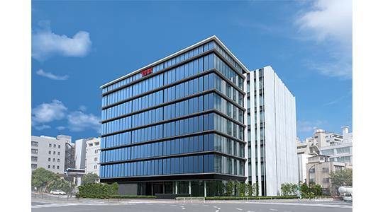 THK(株)本社ビルが、独自の免震システムを採用