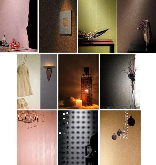 「光との調和により個性あふれる空間を演出する壁紙」をコンセプトにしたAccentbywallcoverings。