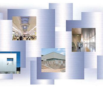 『鋼板スパンドレル』を使用した施工例をご紹介。