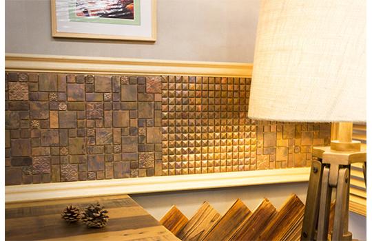 アンティークな雰囲気の銅張タイル「3D銅」が新登場!