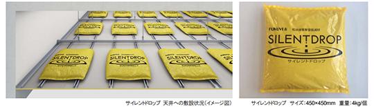 新製品!粒状床衝撃音低減材 「サイレントドロップ」 とは・・・ 新製品