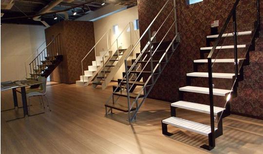 カツデンアーキテックの階段製品を実際に楽しめます ショールーム