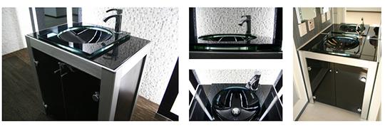 モダンデザインの洗面台をオーダーメイドで制作致します!