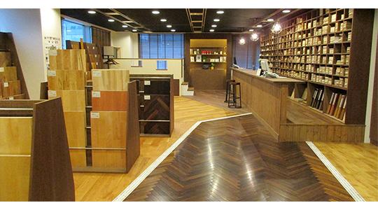 アクセスが便利な横浜ショールームのご案内です。