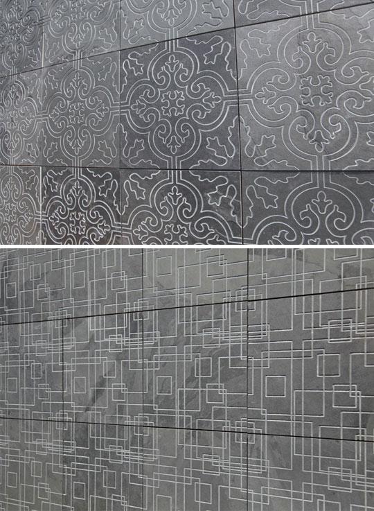 ミツル陶石の「彫刻石材」で空間にアクセントをプラス。