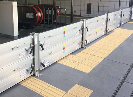 豪雨対策製品!「軽量アルミ止水板潮4」は誰でも簡単設置可能です!