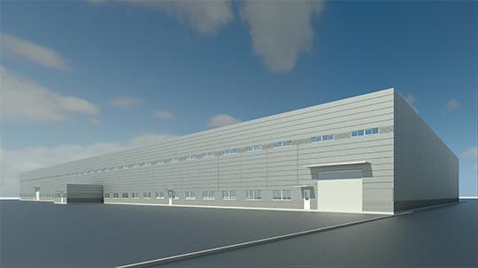 茨城県に水戸工場製造ラインを新設致します。