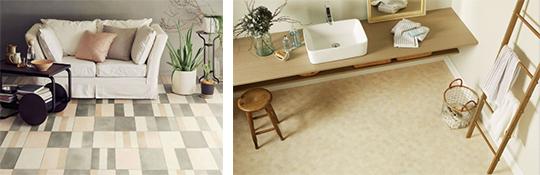 床材で実現するあこがれのインテリアスタイル「Hフロア」