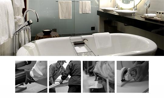 機能面からデザイン面までオーダーメイドのバスルーム
