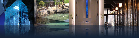 「AQUA MARUZEN」水演出の様々な事案をご紹介致します。 製品紹介