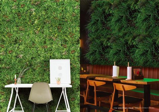 近日販売!人工植物「GREENディスプレイ」カタログを公開
