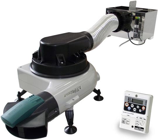基礎断熱工法対応の床下用電子除湿送風ユニット「ドライ・プロ」