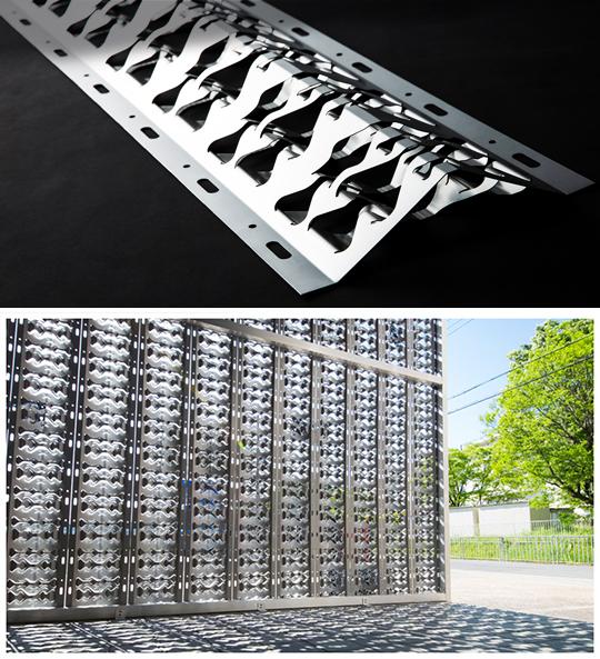 日よけ・外装材「金属製フラクタル」を展示いたします!