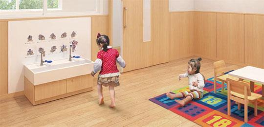 アイカ工業株式会社が「キッズ洗面セット2歳児用」を発売! 新製品