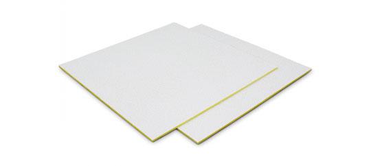 在来天井の地震時の安全・安心対策として、超軽量なグラスウール天井板「イアルスーパーライト」を発売 新製品