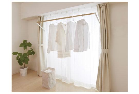 新商品「室内物干し」のご紹介&建築・建材展の出展のお知らせ