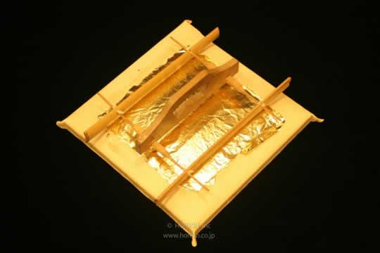 「建築・建材展」にて純金箔・銀箔の加飾技術を展示
