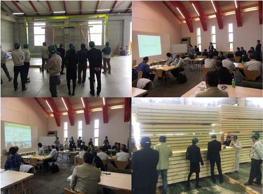 建設会社対象「中規模木造 森の工場見学ツアー」を開催しました! イベント