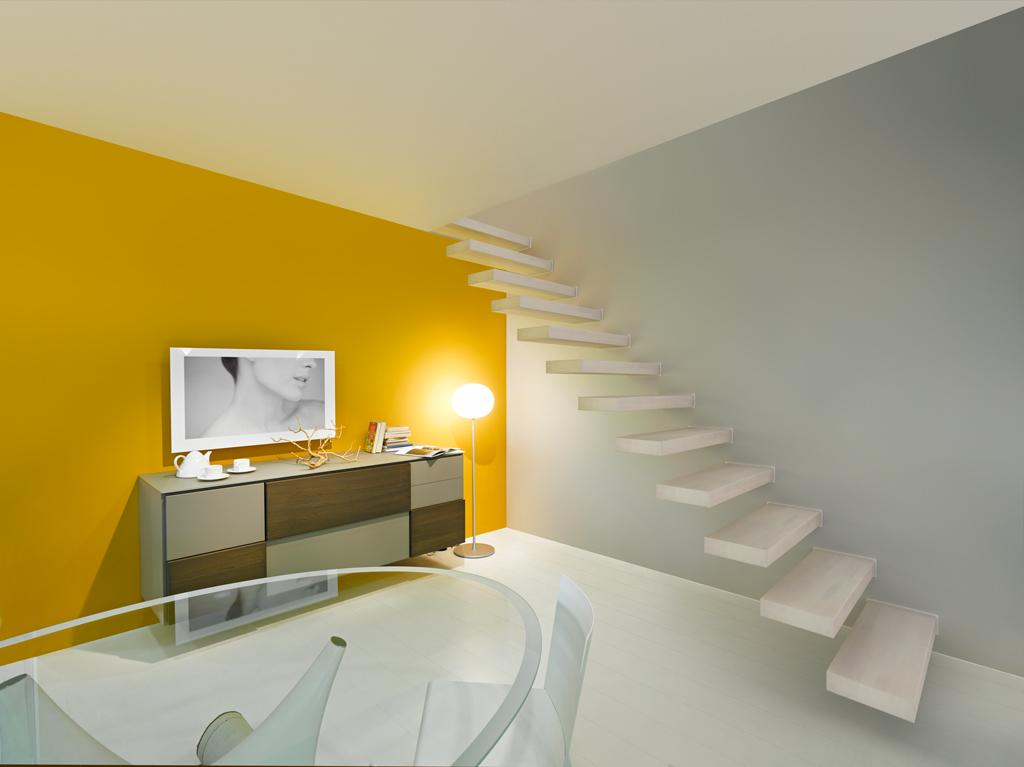機能とスタイルをデザインした横持ち階段「WALL」新登場!