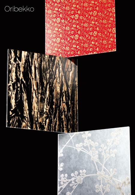 西陣織とアクリル樹脂の一体感、京都発の新素材「織鼈甲-Oribekko-」 製品紹介