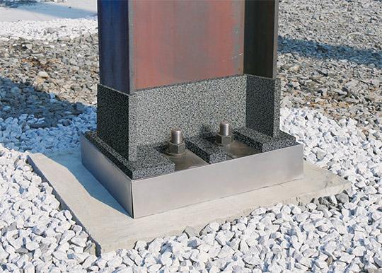 設計自由度と施工性を高めた低剛性柱脚「PINベース®工法」をリファイン!