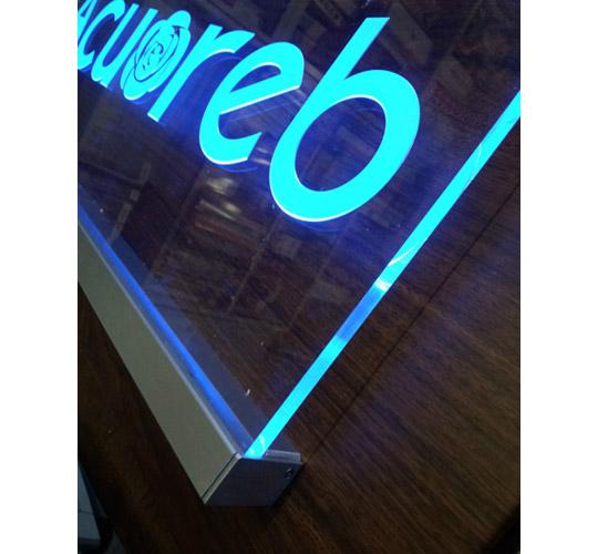 「LED内照式 室内平付サインシステム」DISPWALL 製品紹介