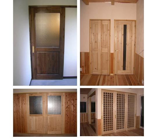自然素材をお探しの方に【無垢ドア】