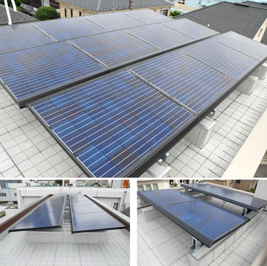 太陽光パネル架台周りの防水層保護マット≪ソーラーパネル周りルーフマット≫が大切な建物を守ります!! 製品紹介