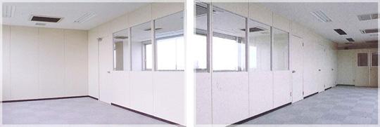 オフィスを快適で高級感ある空間に。スチールパーティション 製品紹介
