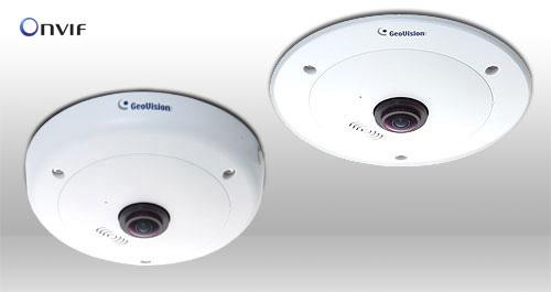 死角のない360度全方位映像監視を実現。魚眼レンズ採用200万画素360度全方位カメラ「GV-FE2301」7月より販売開始