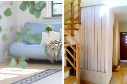 『風』『音』のない快適な輻射式冷暖房システム「ラジアン暖冷」