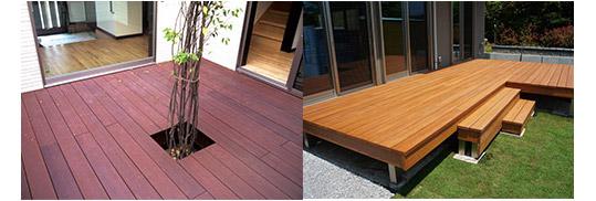 天然木の温もりを持った美しい人工木材【彩木】 製品紹介