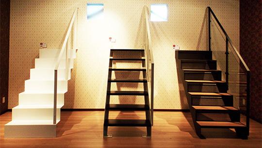 """『住まいの階段ショールーム』の室内階段""""オブジェア""""ゾーンをリニューアル! ショールーム"""