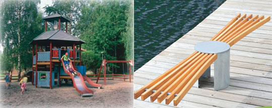 公園遊具・園庭遊具・室内遊具のことならお任せ下さい。 ~当社はフィンランドLAPPSET社遊具の総販売元です~