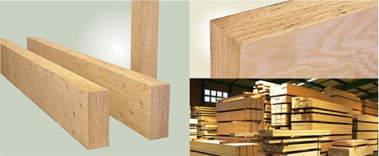 高品質の構造用木材LVLキ―ラムクロス
