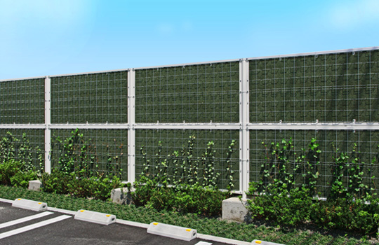 緑化型目隠しフェンス『ツルパワーフェンス』 製品紹介