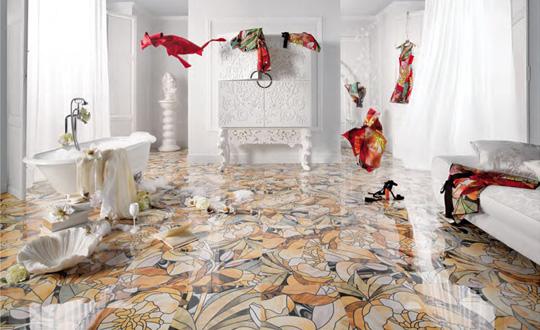 スタイリッシュな『スペインタイル』『シャワールーム』のご紹介