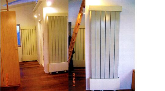温度と湿度を快適にする幅射式冷暖房システム『ピアニスト』