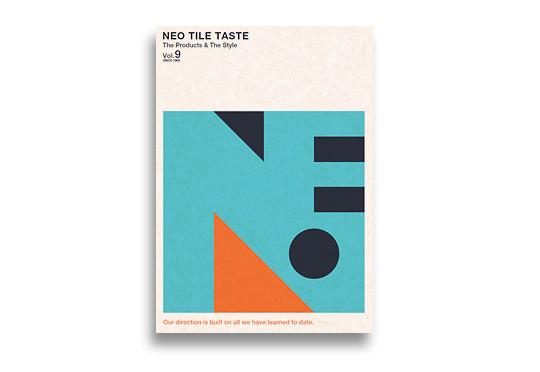 高品質なタイルカタログ「NEO TILE TASTE」Vol.9が完成 HPリニューアル